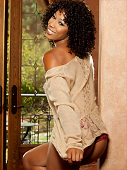 Penthouse Pet of the Month December 2014 Misty Stone (Picture courtesy of Penthouse.com)