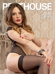 Penthouse Pet of the Month August 2015 Samantha Bentley (Picture courtesy of Penthouse.com)